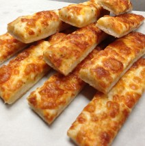 Garlic Cheese Sticks with Bacon